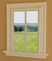 window exterior home 3d model