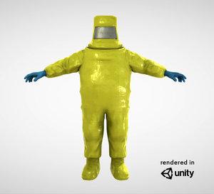 hazmat character 3D model