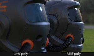 3D model pack helmet