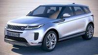 land rover evoque 3D model