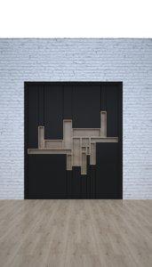 book shelf 3D model