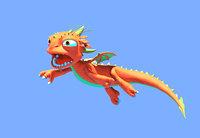 3d > mythological creatures fantasy model