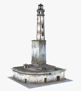 lighthouse light 3D