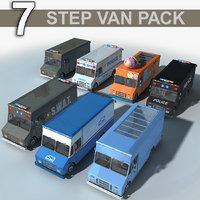 3D step van