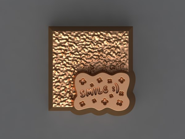 chocolate mold hand 3D model