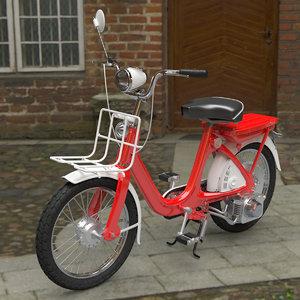 honda moped wheel 3D model