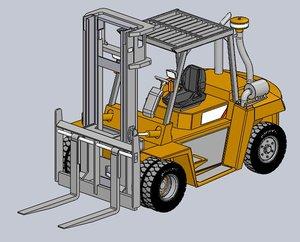 forklift truck model