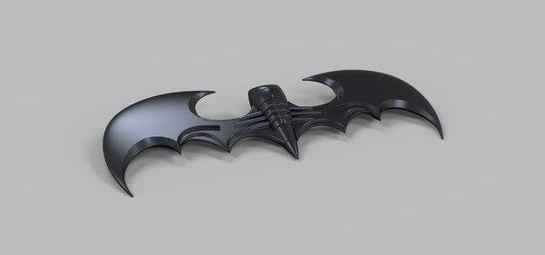 3D batarang