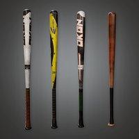 Baseball Bat 01a (SNG) - PBR Game Ready