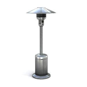 3dsmax patio heater