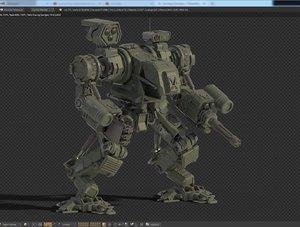 3D robot war