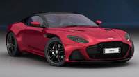 3D aston martin dbs superleggera model