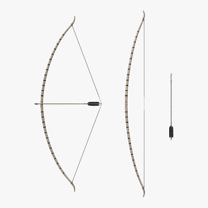 viking bow set 3D