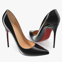women shoes generic 3D model