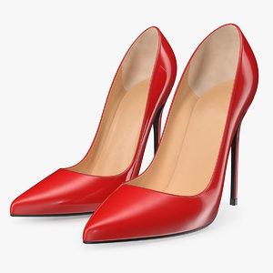 3D pumps heels