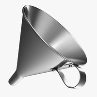 metal funnel 3D