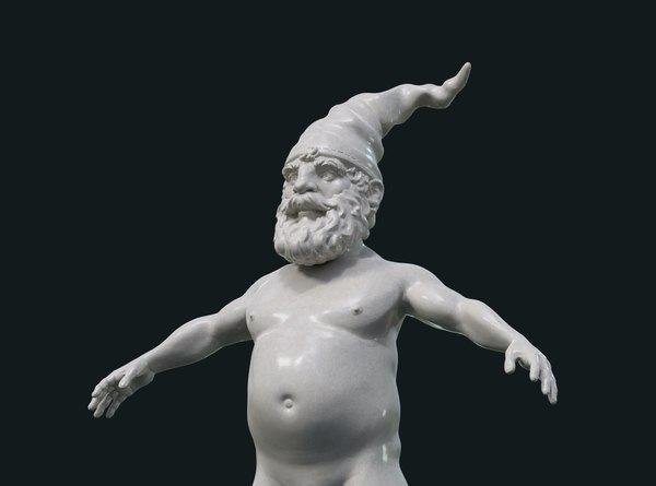 print ready gnome figure 3D
