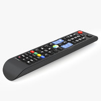 Samsung TV Remote Control 3D Model