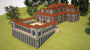 st jean philadelphia church 3D model