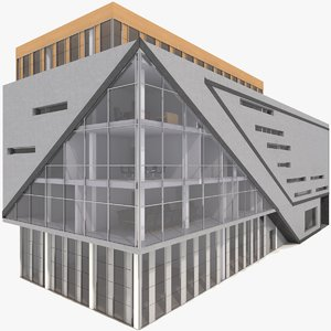 office building model