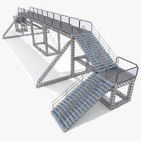 metallic overpass 3D