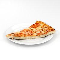 pizza slice 3D model