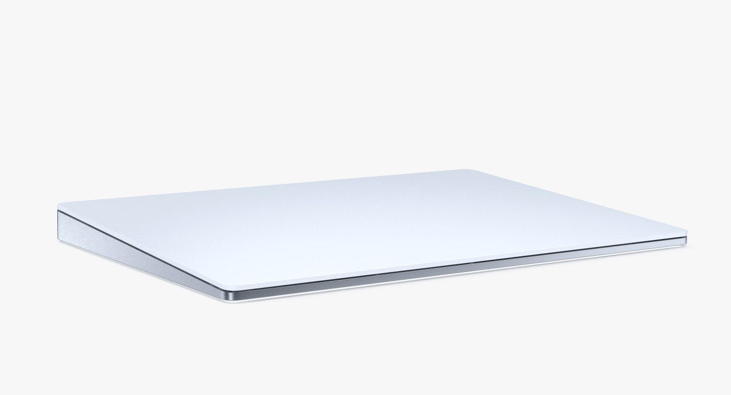apple magic trackpad 2 3D model