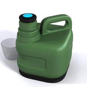 gallon 3D model