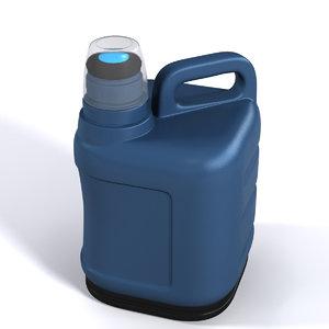3D gallon model