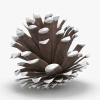 3D frosted-pine-cones---05