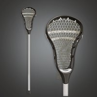 Lacrosse Stick 01a (SNG) - PBR Game Ready