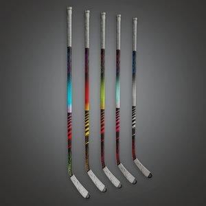 3D hockey stick model