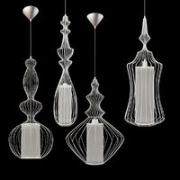 3D model loft lamps lussole