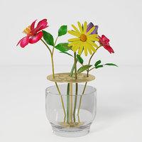 Ikebana Vase Flower