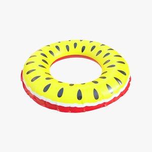 realistic float ring 14 3D model