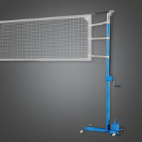 Volleyball Net 01a (SNG) - PBR Game Ready