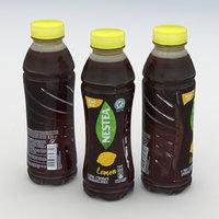 tea beverage bottle model
