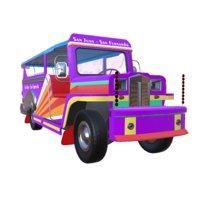 philippines car jeepney 3D