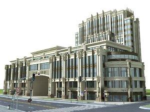 apartments architectural 3D model