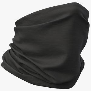 realistic mask pbr bandana 3D model