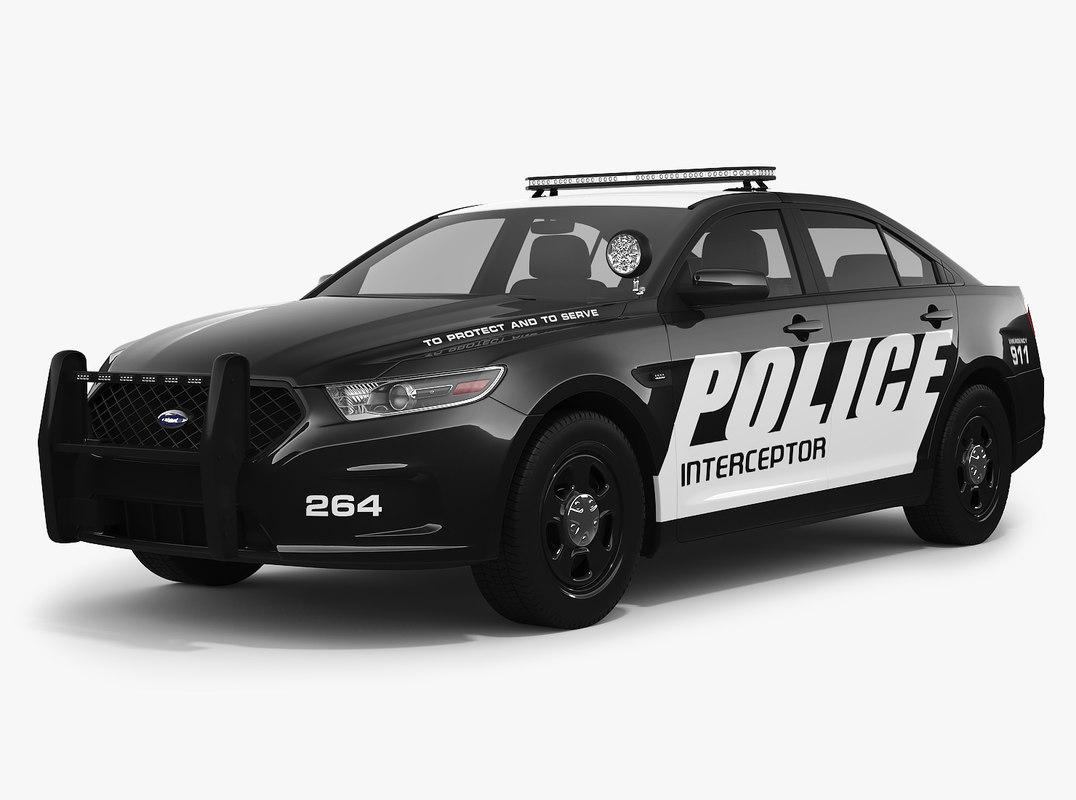 3D model taurus police