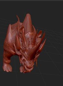 3D rindrag