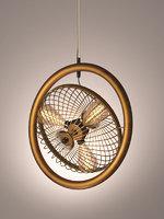 ceiling light loft fan 3D model