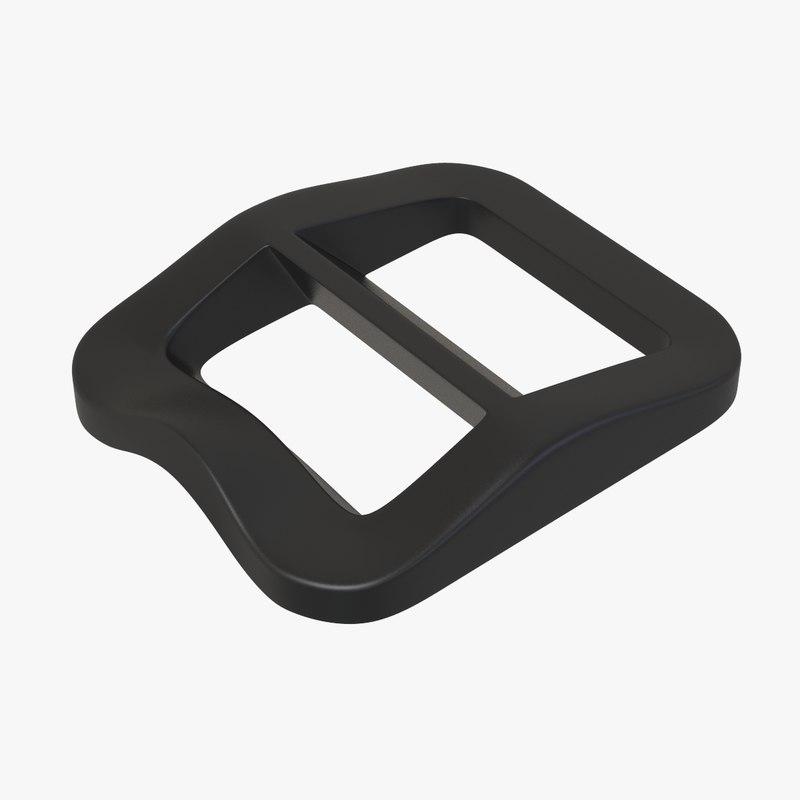 locwave adjuster buckle 3D model