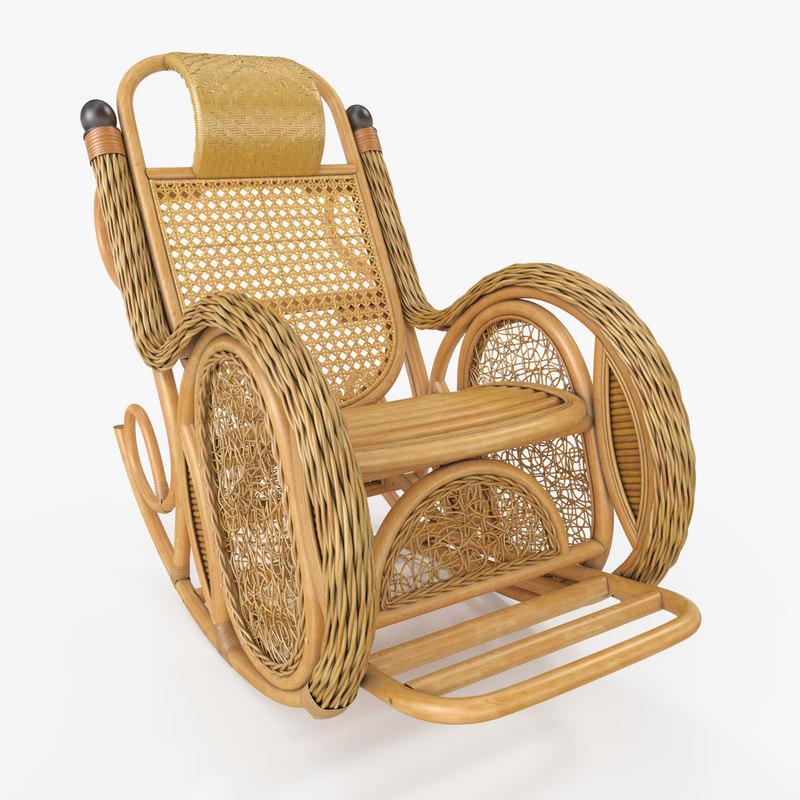 3D interior armchair model