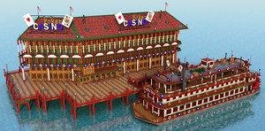 3D casino mississippi river