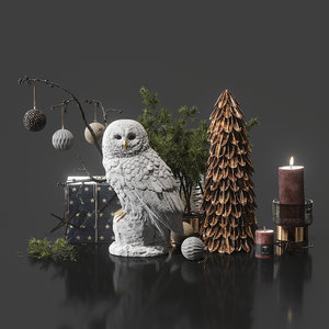 3D decor set model