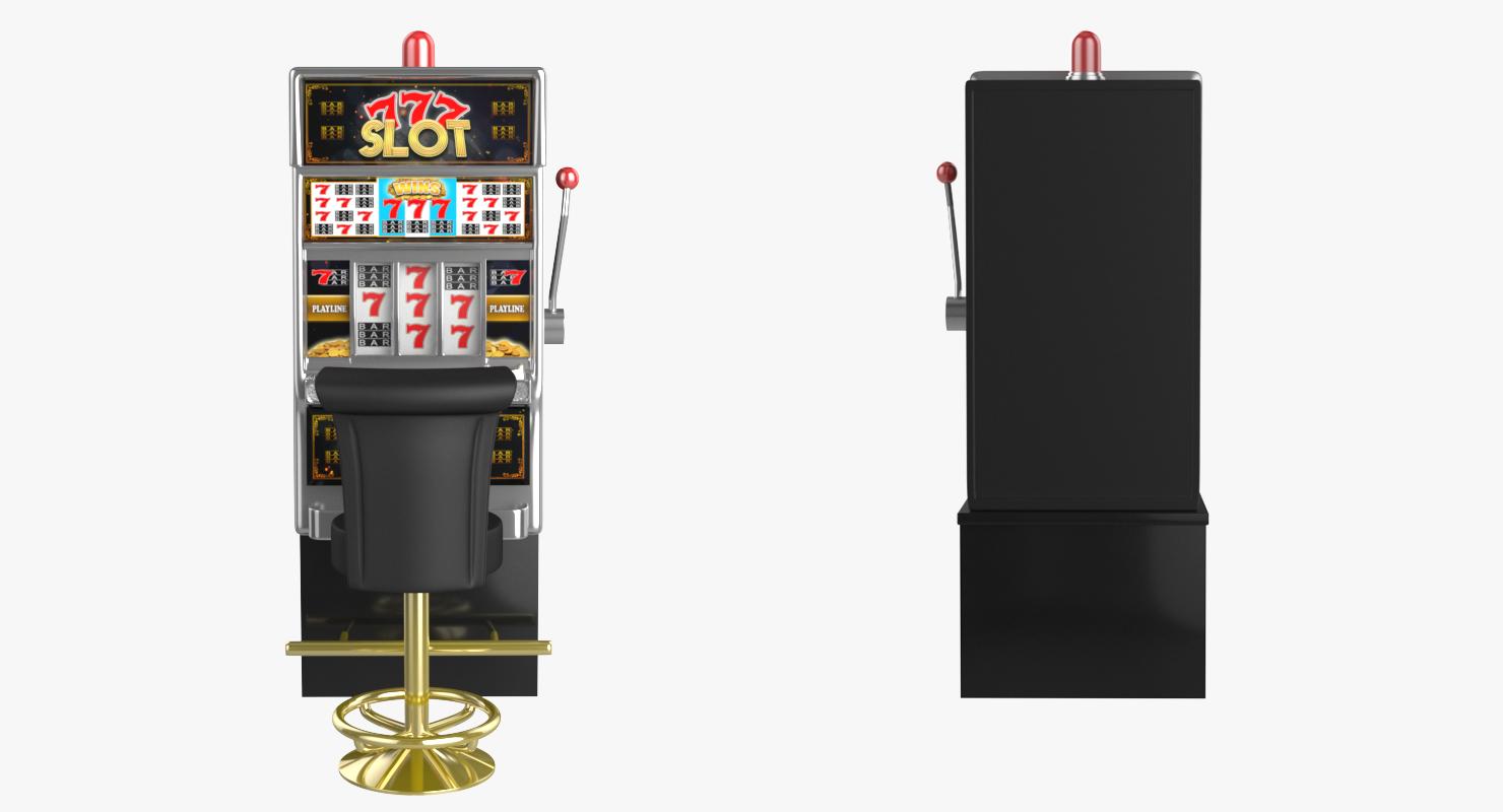 3D slot machine chair