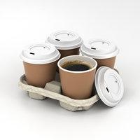 holder coffee 3D model