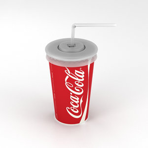 3D drink cup